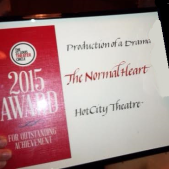The Normal Heart receives Best Drama 2015