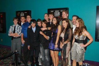 Logan Film Premier - Cast - 2010